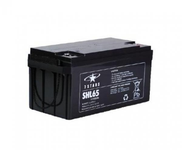 Baterie / acumulator UPS 65 Ah 7STARSDisponibil pe endress-generatoare.ro cu garantie inclusa.
