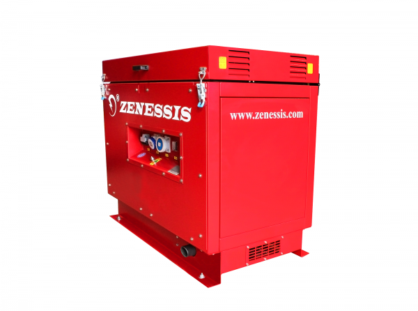 Generator motorina / grup electrogen santier ESE 6000 SK-ED Kohler Disponibil pe endress-generatoare.ro cu garantie inclusa.