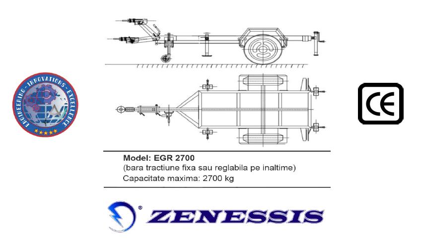 Remorca EGR2700